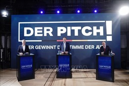 Đức: CDU tổ chức tranh luận giữa các ứng cử viên vào vị trí chủ tịch đảng