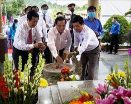 Dâng hương tưởng niệm 59 năm Ngày hy sinh của Anh hùng lực lượng vũ trang nhân dân Phan Thị Ràng