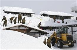 Hơn 1.000 phương tiện 'chôn chân' vì mưa tuyết