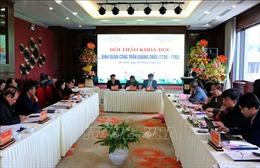 Tôn vinh tinh thần Định Quận công Trần Quang Châu