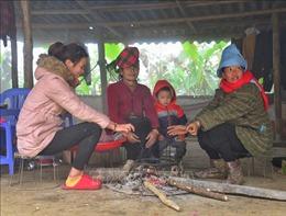 Học sinh vùng cao Điện Biên, Yên Bái phải nghỉ học do rét đậm, rét hại
