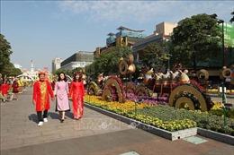 Khuyến cáo người dân khi tham quan Đường hoa Nguyễn Huệ dịp Tết