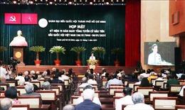 TP Hồ Chí Minh gặp mặt kỷ niệm 75 năm Ngày Tổng tuyển cử đầu tiên