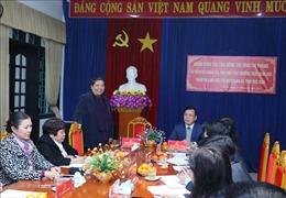 Phó Chủ tịch Thường trực Quốc hội Tòng Thị Phóng thăm và làm việc tại huyện Na Rì - Bắc Kạn
