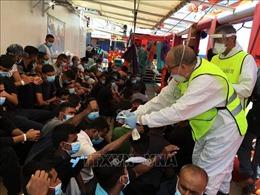 Đắm thuyền ngoài khơi Libya, ít nhất 41 người di cư thiệt mạng