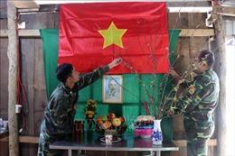 Đón Tết cùng người lính biên phòng ở chốt kiểm soát dịch COVID-19