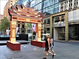 Ấn tượng cổng chào truyền thống của Việt Nam tại lễ hội ở Sydney, Australia