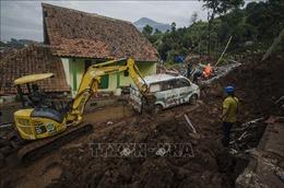 Lở đất tại Indonesia, ít nhất 4 người thiệt mạng