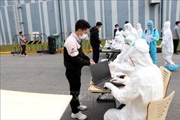 Trên 7.000 mẫu xét nghiệm của 16 công ty tại huyện Cẩm Giàng âm tính