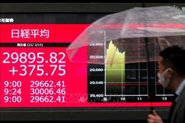 Các thị trường chứng khoán châu Á phiên 2/4 nối gót phố Wall đi lên
