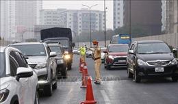 Huy động tối đa lực lượng điều tiết giao thông sau kỳ nghỉ Tết