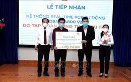 Trao tặng Sở Y tế TPHồ Chí Minh trang bị thiết bị y tế phòng, chống dịch COVID-19