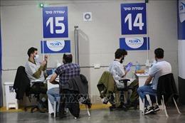 Israel thông báo hiệu quả của vaccinePfizer/BioNTech ngừa COVID-19
