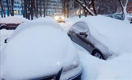 Mưa tuyết tấn công nhiều nước Trung Đông và Bắc Phi