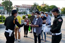 Phát hiện 32 ca lây nhiễm virus SARS-CoV-2, Campuchia phong tỏa nhiều chung cư tại thủ đô