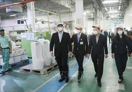 Kiểm tra công tác phòng, chống dịch COVID-19 tại các đơn vị sản xuất ở Hà Nội