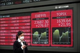 Các thị trường chứng khoán châu Á 'đỏ sàn'