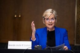 Thượng viện Mỹ xác nhận bà Jennifer Granholm làm Bộ trưởng Năng lượng
