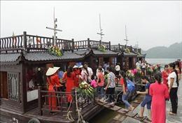 Hai ngày cuối tuần, chùaTam Chúc đón khoảng 70.000 lượt khách