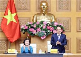 Thủ tướng gặp mặt các đại biểu, nhà hảo tâm đồng hành cùng Quỹ học bổng Vừ A Dính