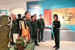 Triển lãm chuyên đề 'Thanh niên Quân đội - Vững bước dưới cờ Đảng'