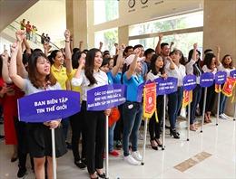 Công đoàn TTXVN chăm lo đến người lao động