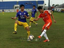 Hà Nội 'phơi áo' trên sân của SHB Đà Nẵng