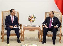 Thủ tướng Nguyễn Xuân Phúc tiếp Hiệp hội doanh nghiệp Hàn Quốctại Việt Nam