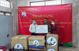 TP Hồ Chí Minh trao kinh phí hỗ trợ Trường Tiểu học Hữu nghị tỉnh Champasak của Lào