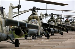 Quân đội Nga di chuyển trong lãnh thổ để đảm bảo an ninh của đất nước