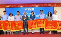 Thông tấn xã Việt Nam: Thi đua là động lực phát triển