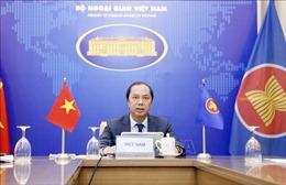 Đối thoại ba bên mở rộng giữa các Bộ trưởng Ngoại giao ASEAN và Ngoại trưởng Anh