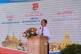 Lãnh đạo TP Hồ Chí Minh gặp gỡ sinh viên Lào, Campuchia nhân dịp Tết cổ truyền