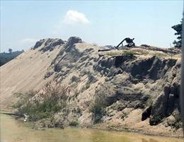 Khan hiếm, giá cát xây dựng ở Đồng bằng sông Cửu Long được đẩy lên cao