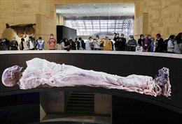 Sảnh trưng bày xác ướp hoàng gia nghìn năm tuổi ở Ai Cập đón khách tham quan