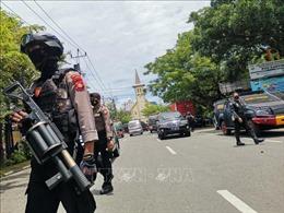 Bắt giữ thêm 3 nghi can trong vụ đánh bom nhà thờ ở Indonesia