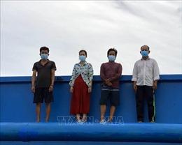 Kiên Giang: Tiếp tục phát hiện 4 người nhập cảnh trái phép