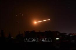 Syria đánh chặn nhiều tên lửa của Israel