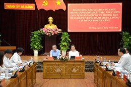 Thi hành Điều lệ Đảng tạo ra sức mạnh cho tổ chức Đảng và đảng viên