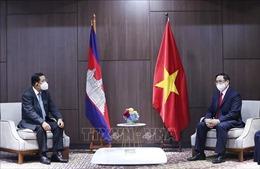 Thủ tướng Phạm Minh Chính gặp Thủ tướng Campuchia, Singapore, Malaysia