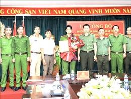 Chiến sỹ, thương binh Phan Đức Mạnh được chuyển chuyên nghiệp vào Công an Đồng Nai
