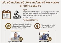 Cựu Bộ trưởng Bộ Công Thương Vũ Huy Hoàng bị phạt 11 năm tù