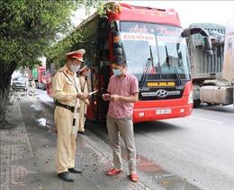 Ninh Bình khuyến cáo người tham gia giao thông chấp hành quy định phòng dịch