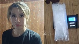 Bắt giữ nữ đối tượng buôn bán ma túy, tàng trữ súng