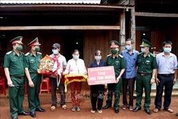 Bộ Tư lệnh Quân khu V tặng 2 căn nhà tình nghĩa tại Đắk Nông