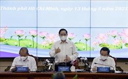 Thủ tướng Phạm Minh Chính làm việc với lãnh đạo chủ chốt TP Hồ Chí Minh
