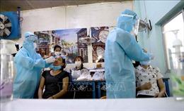 Vĩnh Phúc: Lấy mẫu xét nghiệm sàng lọc SARS-CoV-2 tại doanh nghiệp