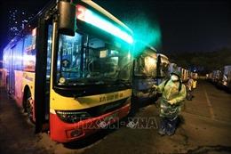 Tạmdừng hoạt động vận tải hành khách bằng xe buýt và xe khách trong tỉnh Bắc Ninh