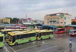 Dừng toàn bộ hoạt động vận tải khách bằng ô tô trên địa bàn tỉnh Bắc Giang