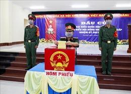 Ngày hội bầu cử tại xã đảo Thổ Châu, Kiên Giang
